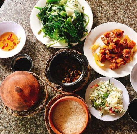 Combo cơm niêu - Mâm cơm người Việt - Lẩu cá bóp - trong top 5 quán cơm niêu ngon Phan Thiết