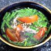 canh cá nục nấu ngót