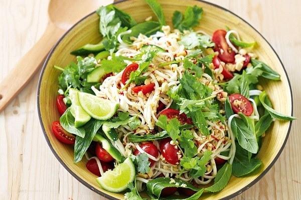 salad dầu giấm